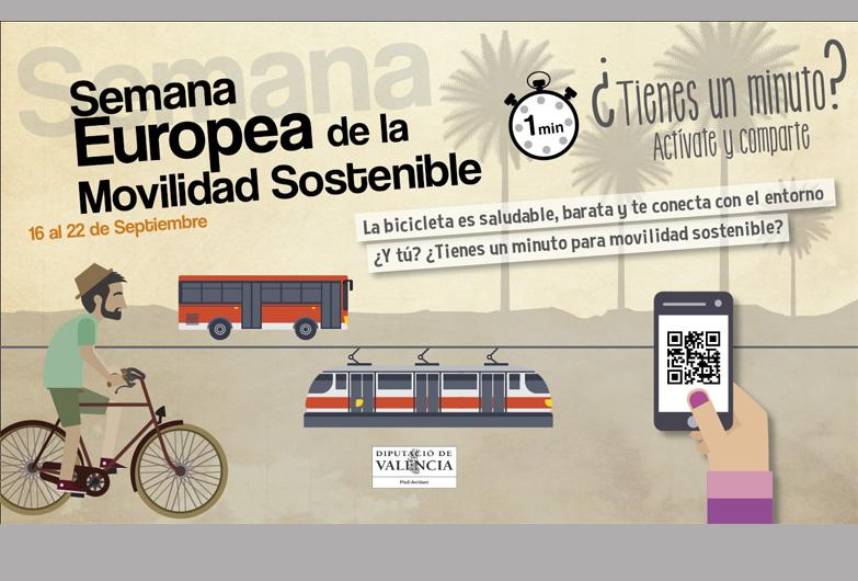 La Diputación de Valencia impulsa la movilidad sostenible y la multimodalidad en el transporte