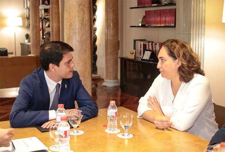 Educación, cultura e infraestructuras, principales inversiones de la Diputación de Barcelona en la ciudad