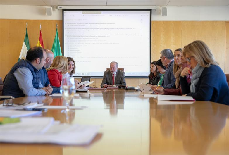 La Diputación de Sevilla formará parte de la Red Andaluza de Ciudades EDUSI
