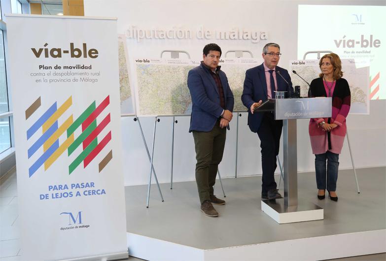 La Diputación de Málaga diseña un ambicioso plan para luchar contra el despoblamiento rural que afectará a 40 municipios