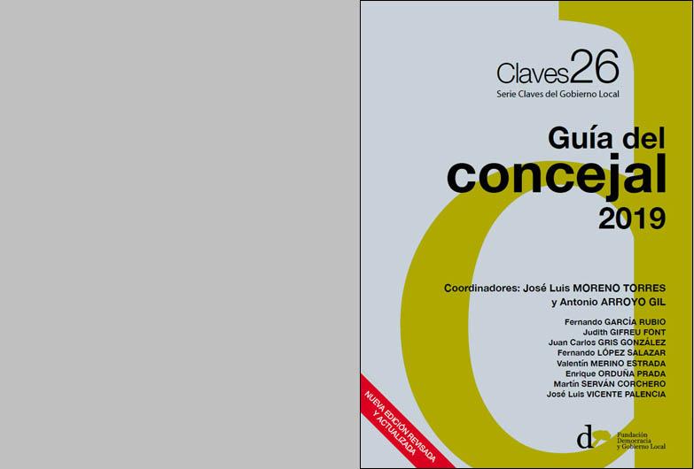 Nueva edición de la <i>Guía del concejal</i> publicada por la Fundación Democracia y Gobierno Local