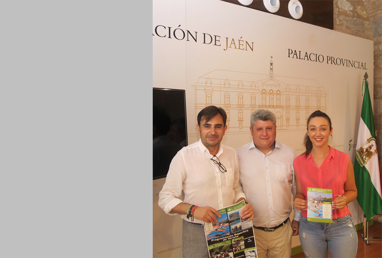 La Diputación de Jaén programa cerca de 40 actividades deportivas para este verano en las que participarán unas 4.400 personas