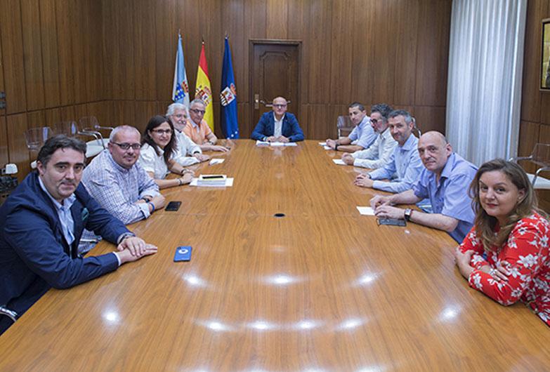 Constitución de la junta de gobierno del mandato 2019-2023 en la Diputación de Ourense