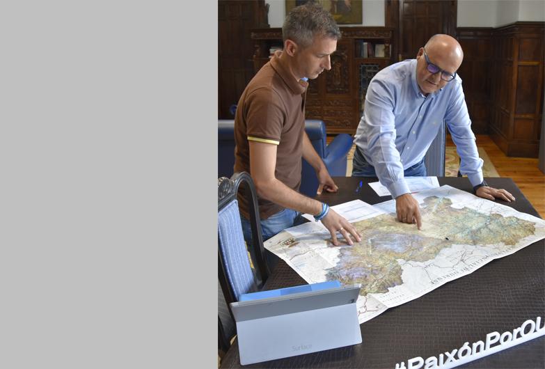 La Diputación de Ourense ultima el plan de la Red Viaria Provincial de 2020