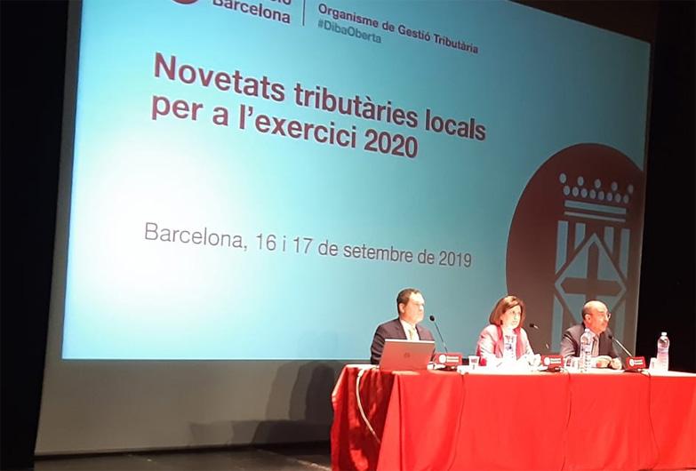 La Diputación de Barcelona informa a los gobiernos locales de las novedades tributarias para el 2020