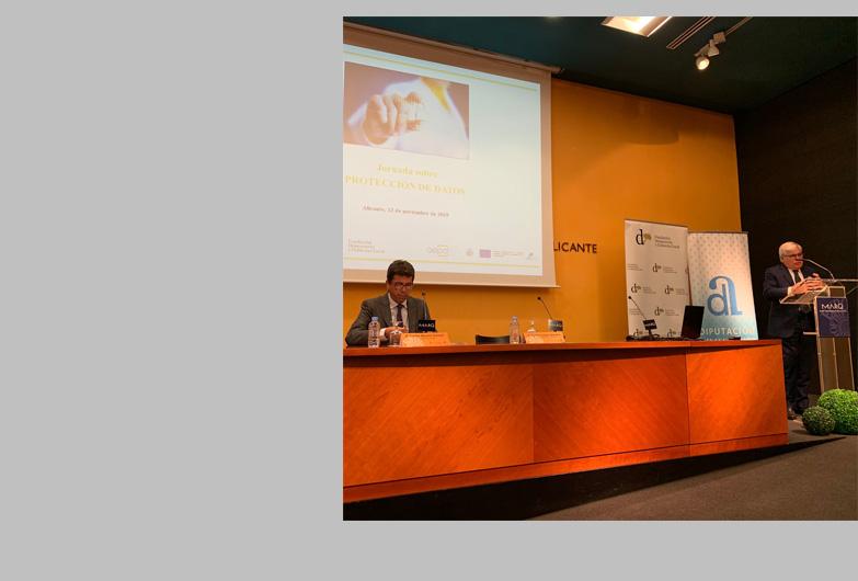 Celebración de una jornada sobre protección de datos en Alicante