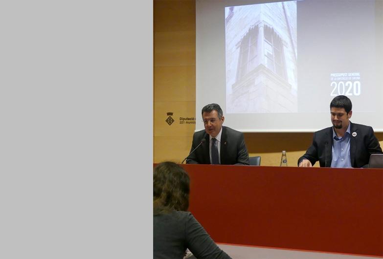 La Diputación de Girona prioriza las políticas sociales y medioambientales en el presupuesto de 2020