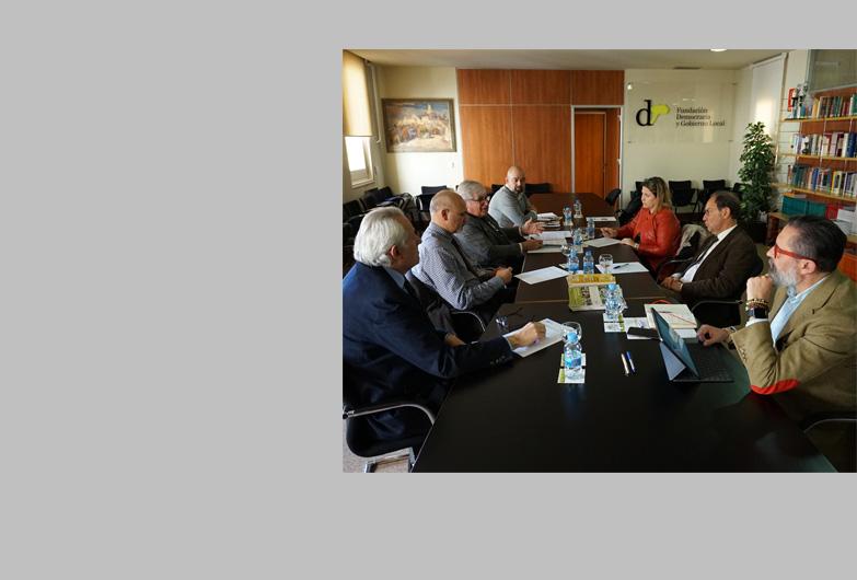 Celebración de la reunión del Consejo Asesor de la Fundación Democracia y Gobierno Local