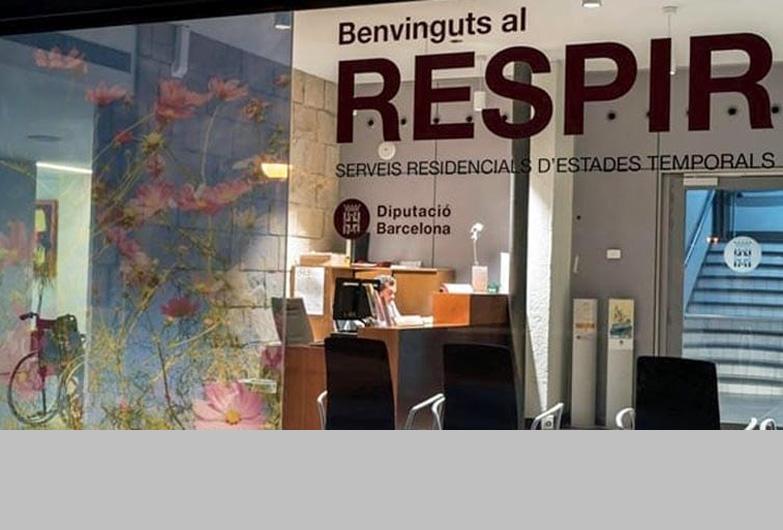 3.905 personas se han beneficiado del servicio Respir de la Diputación de Barcelona, en el 2019